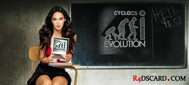 CycloDS iEvolution Review • iEVO Card from Team Cyclops